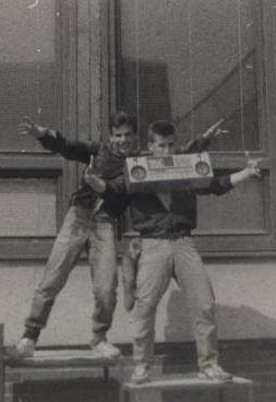 gumeni chlapci boombox